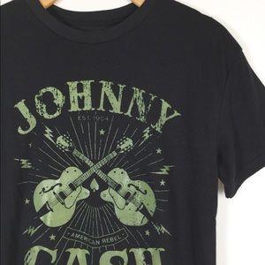 Johnny Cash graphic tee tshirt band soft